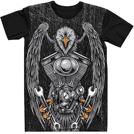 Stompy Camiseta Eagle Motor Rock