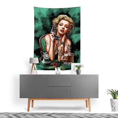 Stompy Tecido Decorativo Tactel Marilyn Monroe