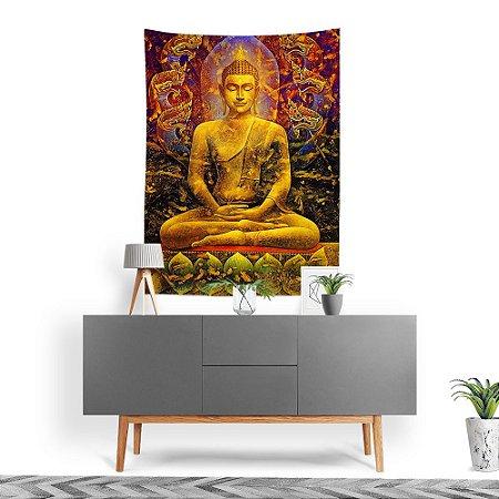 Stompy Tecido Decorativo Tactel Budha