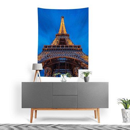 Stompy Tecido Decorativo Tactel Torre Eiffel