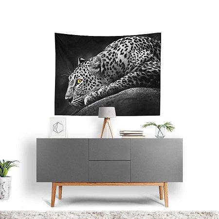 Stompy Tecido Decorativo Tactel Grey Tiger