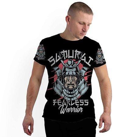 Stompy Camiseta Full Print Samurai Warrior