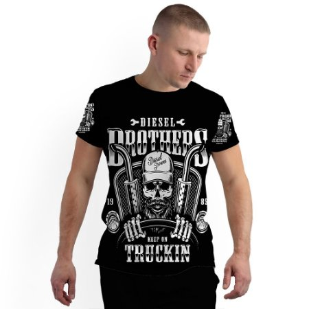 Stompy Camiseta Full Print Diesel Brothers