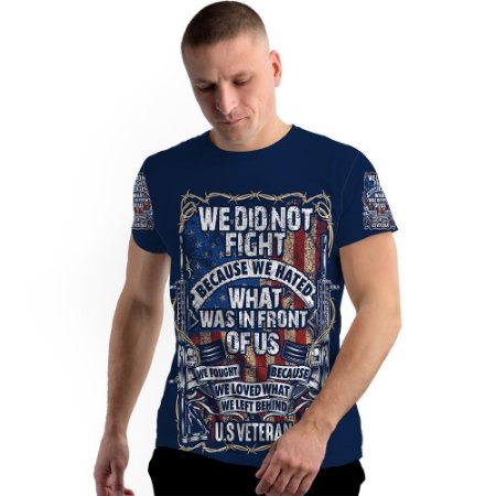 Stompy Camiseta Full Print Military Guns