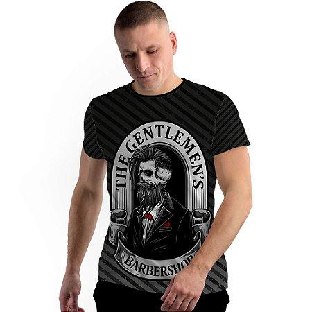 Stompy Camiseta Full Print Gentlemens Barber