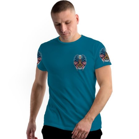 Stompy Camiseta Full Print American Guardian