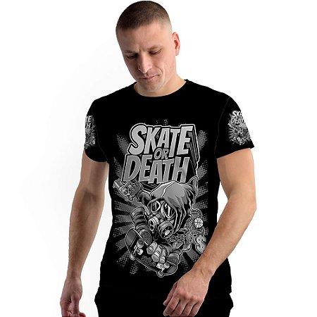 Stompy Camiseta Full Print Skate Or Death