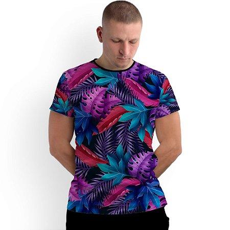 Stompy Camiseta Full Print Flowers