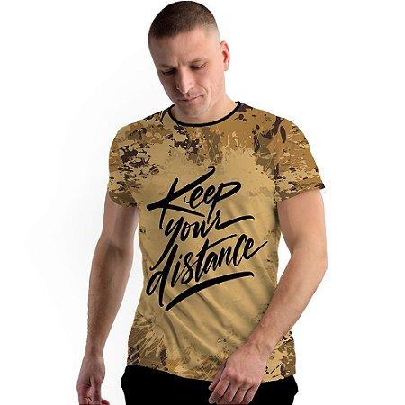 Stompy Camiseta Full Print Keep Distance