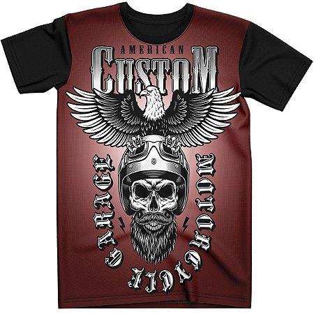 Stompy Camiseta Skull Custom