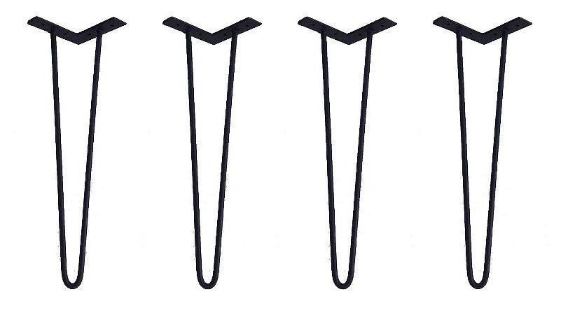 4 Hairpin Legs com 45cm de altura