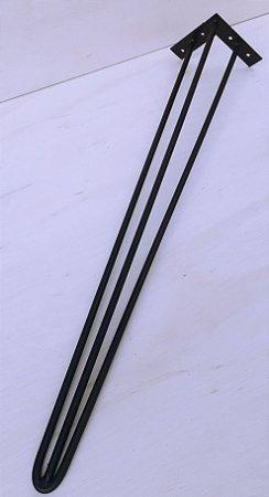 4 Hairpin Legs com 73cm de altura