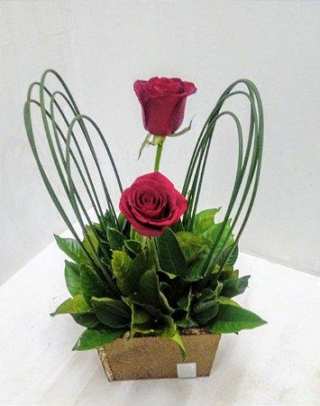 Duas rosas especiais