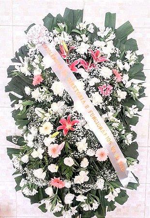 Coroa de flores dupla Grande