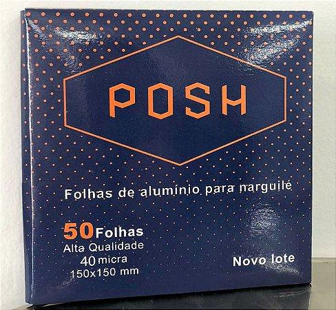 ALUMÍNIO POSH C/ 50 FOLHAS