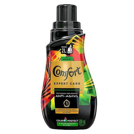 Amaciante Concentrado Comfort Expert Care Color Protect 500ml - Amaciante Comfort