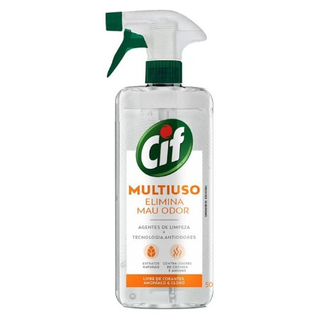 Limpador Multiuso Cif Gatilho Elimina Mau Odor 500ml  - Multiuso Cif