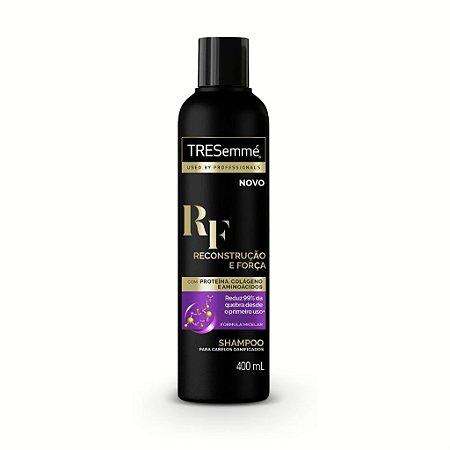 Shampoo TRESemmé Reconstrução e Força 400ml - Shampoo Tresemmé
