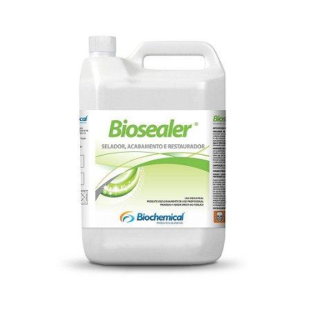 BIOSEALER Galão 5 Lts-Selador e Acabamento Acrilico Alta Resistência-piso de ardósia, granilite, piso poroso-Biochemical
