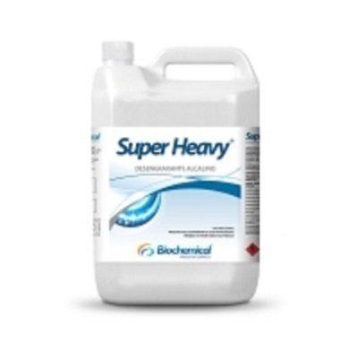 SUPER HEAVY Galão 5 Lts - Desengraxante Industrial Alcalino Biodegradável - Remove óleo, graxas e graxas carbonizadas em