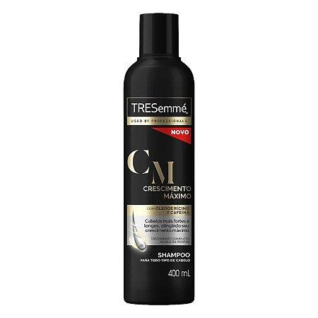 Shampoo Tresemmé Crescimento Máximo 400ml - Shampoo Tresemmé