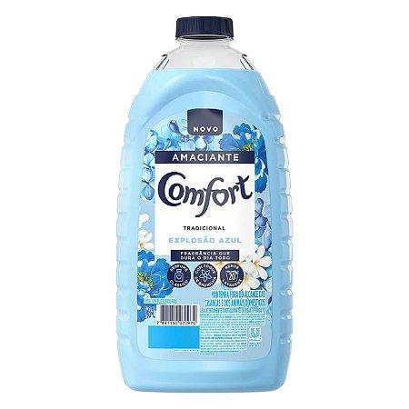 Amaciante Comfort Tradicional Explosão Azul 1,8L - Amaciante Comfort