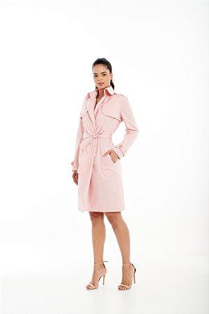 Trench Coat Feminino Comfy Style em Tricoline