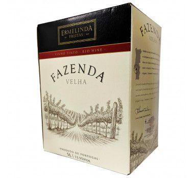 Bag in Box Fazenda Velha 5 litros - Casa Ermelinda