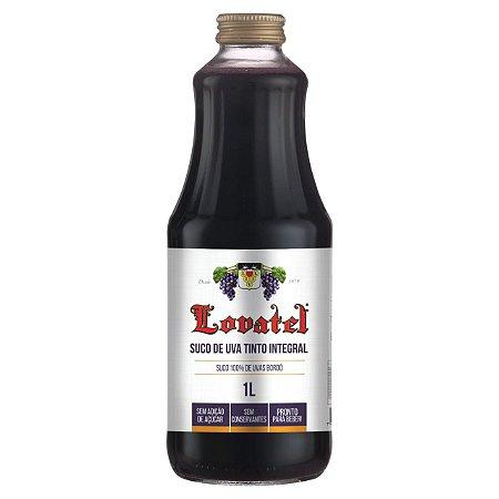 Suco de Uva Tinto Integral 1L - Lovatel
