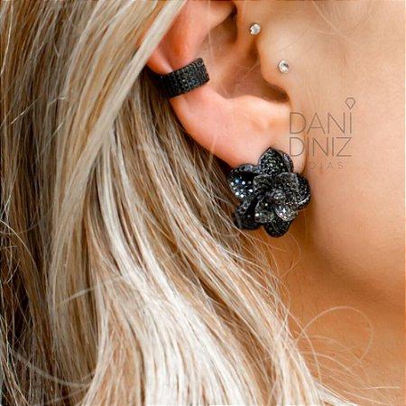 Piercing fake zircônias negras