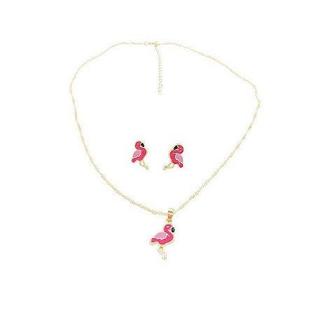 Conjunto Flamingo Andreia