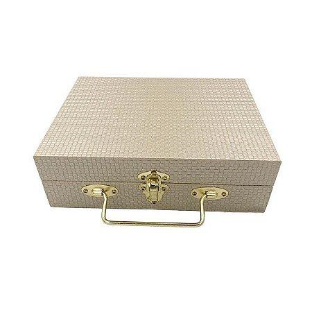 Maletas porta-joias Gold Trice