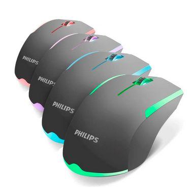Mouse Gamer  Led Philips USB G314 C/ Fio 1200dpi 3 Botões