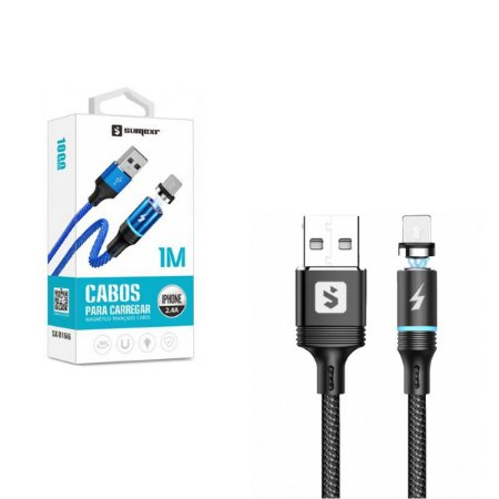 Cabo Usb Magnetico Lightning Iphone