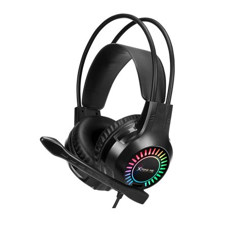 Headset Gamer Xtrike Me, 2x3.5mm + USB, PC, Black, RGB, GH-709