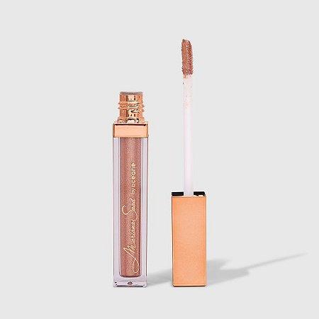 Sombra Líquida Pêssego Mariana Saad - Shine & Glow Liquid Eyeshadow Soft Peach