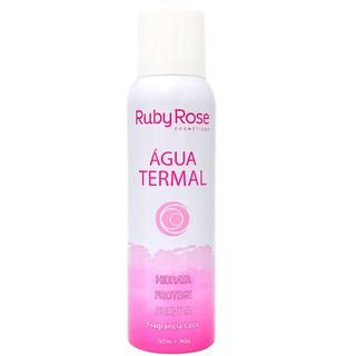 agua termal - ruby rose fragrancia de coco