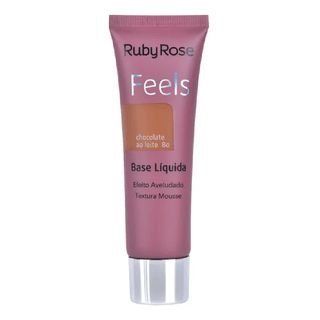 Base Líquida Feels Ruby Rose - Chocolate ao leite 80