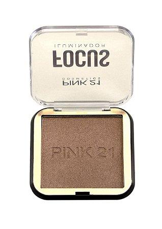Iluminador Focus Pink 21 Cosmetics COR 03