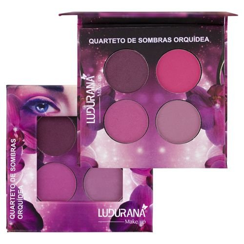 Quarteto de Sombras Orquídea Ludurana