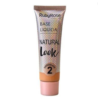 Base Líquida Natural Look Chocolate 2 - RUBY ROSE