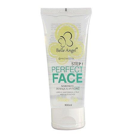 Sabonete Demaquilante Pré Maquiagem Perfect Face Belle Angel
