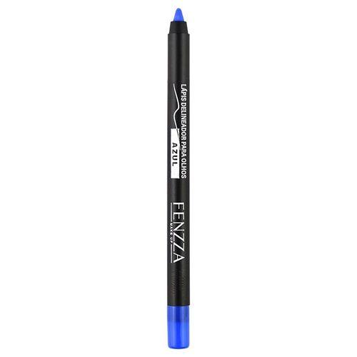 Lápis Colorido Delineador Para Olhos à Prova D'água Fenzza Azul