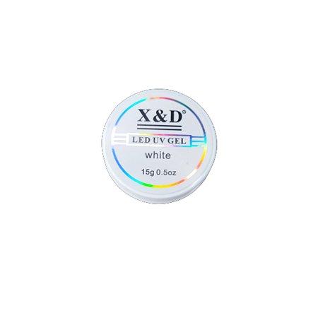 Gel Para Alongamento de Unhas X&D White