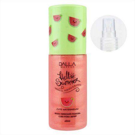 Bruma Hidratante Hello Summer Cute Watermelon Dalla Makeup