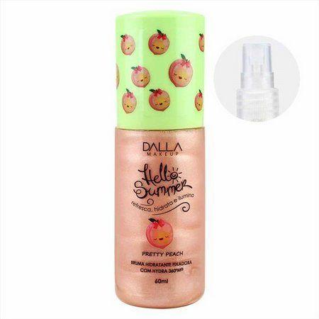 Bruma Hidratante Hello Summer Pretty Peach Dalla Makeup