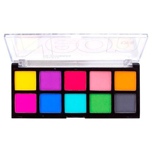 Paleta de Sombras Neon Uni Makeup