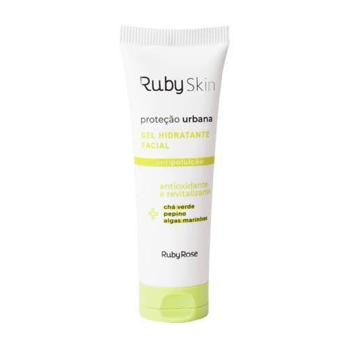 Gel Hidratante Facial Proteção Urbana Ruby Skin - Ruby Rose