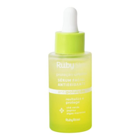 Serum Facial Antioxidante Proteção Urbana Ruby Skin - Ruby Rose