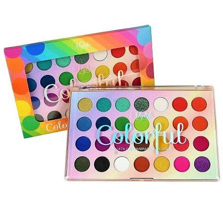 Paleta de Sombras Colorful My Life